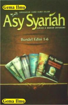 Bundel Majalah Asy-Syariah Edisi 1-6 dan Sakinah