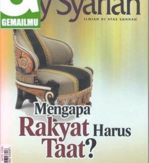 Majalah Asy-Syariah Edisi Vol. VIII/No.95/ 1434 H/2013, dan Sakinah