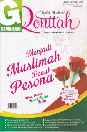 Majalah Muslimah Qonitah Edisi 07 vol 01 1434 H – 2013 M