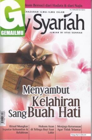 Majalah Asy-Syariah Edisi Vol. VIII/No.96/ 1434 H/2013, dan Sakinah