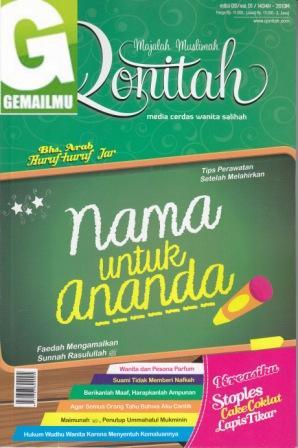 Majalah Muslimah Qonitah Edisi 09 vol 01 1434H-2013M