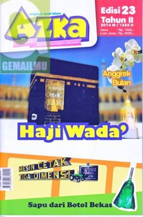 Majalah Anak Islam Azka Edisi 23 Tahun II 2014M-1435H