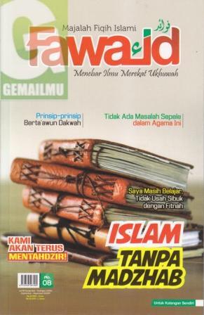 Majalah Fiqih Islami Fawaid Edisi 08 vol 02 2014