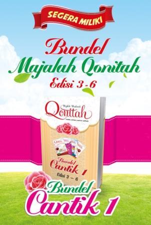 Bundel Cantik 1 Majalah Qonitah Edisi 3-6