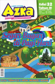 Majalah Anak Islam Azka Edisi 32 Tahun III 2015M-1436H