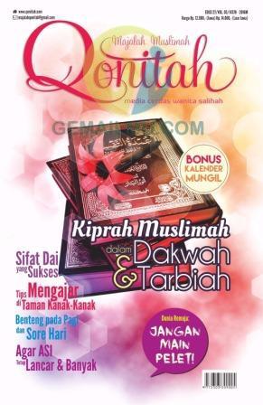 Majalah Muslimah Qonitah Edisi 27