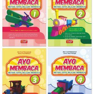 AYO MEMBACA, Metode Cepat Belajar Membaca 1 2 3 4