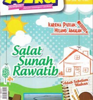 Majalah Anak Islam Azka Edisi 35 Tahun III 2016M-1437H Shalat Sunah Rawatib