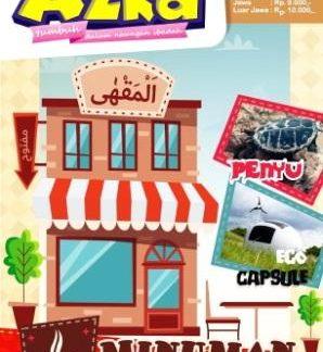 Majalah Anak Islam Azka Edisi 37 Tahun III 2016M-1437H Minuman Berkah