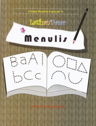 Latihan dasar Menulis untuk pra TK dan TKA