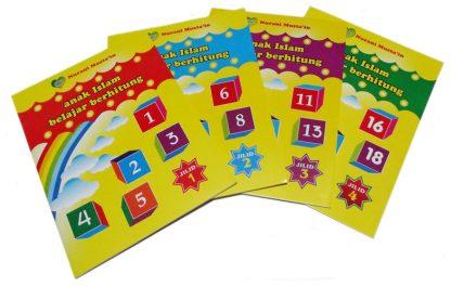 Buku Paket Anak Islam Belajar Berhitung Penerbit Nurani Bunda