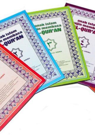 Buku Paket Anak Islam Rajin Membaca Al Quran Penerbit Nurani Bunda