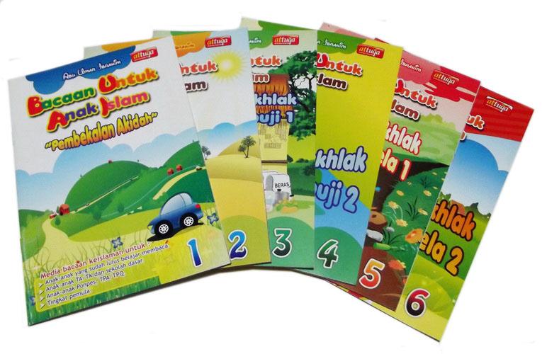 Buku Paket Bacaan Untuk Anak Islam BUAI Penerbit At Tuqa