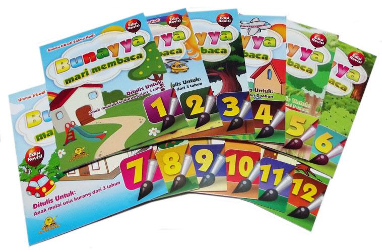 Buku Paket Bunayya Mari Membaca Penerbit Al Ghuraba