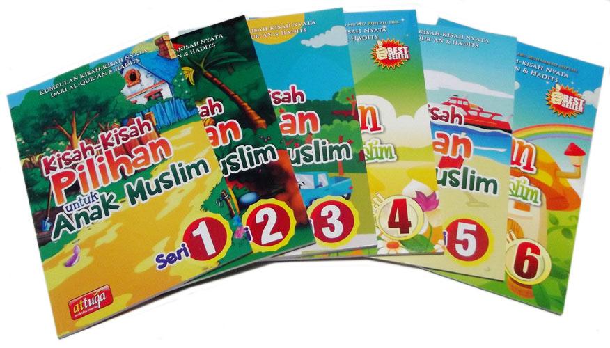 Buku Paket Kisah Pilihan Untuk Anak Muslim Penerbit At Tuqa