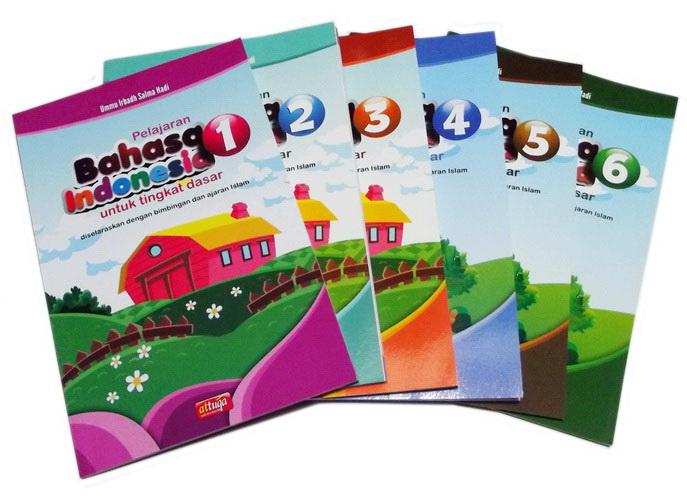 Buku Paket Pelajaran Bahasa Indonesia Penerbit At Tuqa