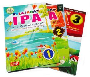 Buku Paket Pelajaran IPA Untuk Madrasah Ibtidaiyyah Penerbit At Tuqa