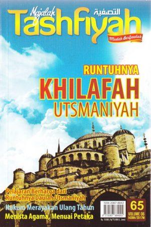 Majalah Tashfiyah Edisi 65 Tema Runtuhnya Khilafah Utsmaniyah