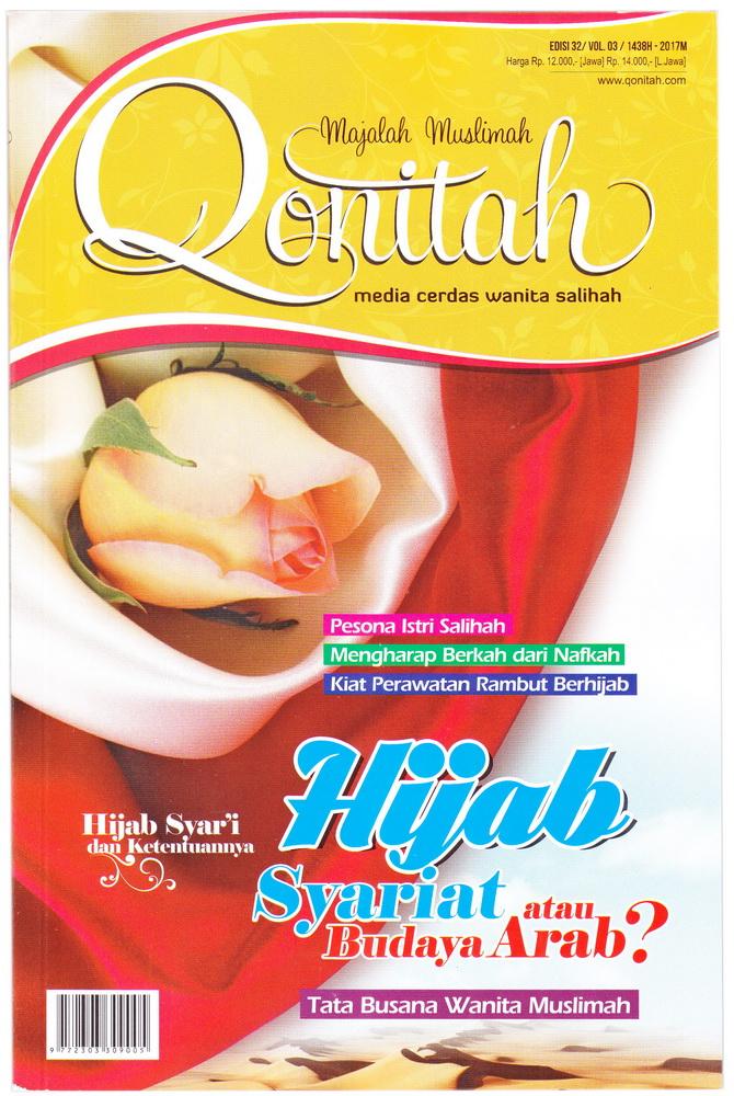 Majalah Muslimah Qonitah Edisi 32 Tema Hijab Syar'i atau Budaya Arab