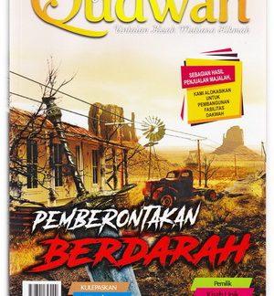 Majalah Qudwah edisi 49 Tema Pemberontakan Berdarah