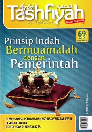 Majalah Tashfiyah Edisi 69 Tema Prinsip Indah Bermuamalah Dengan Pemerintah
