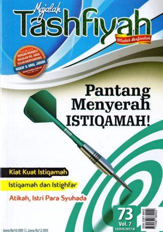 Majalah Tashfiyah Edisi 73 Tema Pantang Menyerah Istiqomah