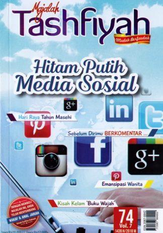 Majalah Tashfiyah Edisi 74 Tema Hitam Putih Media Sosial